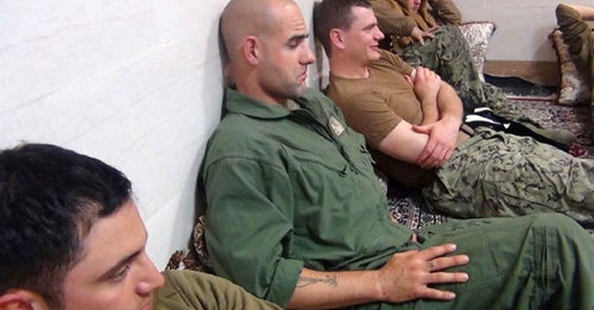 US Navy sailors released unharmed by Iran in less than a day
